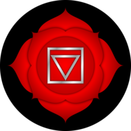 Eerste-chakra-(Muladhara-of-wortel--basis--of-stuitchakra)