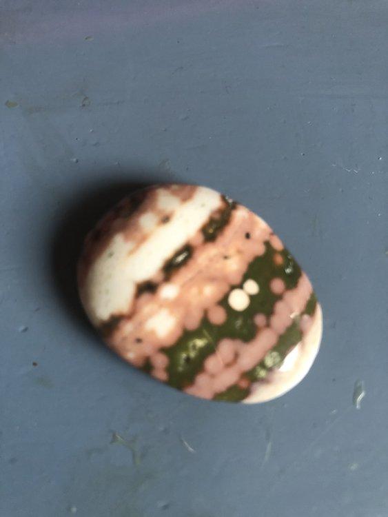 Knuffelsteen van oceaan jaspis