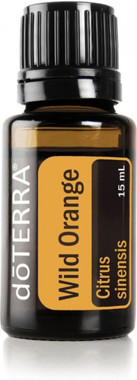 Wild orange (sinaasappel) essentiële olie, 15 ml van Doterra
