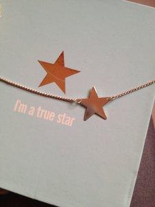 Ketting met zilveren ster