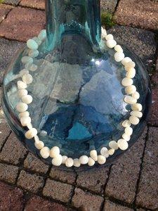prachtige ketting met opaal